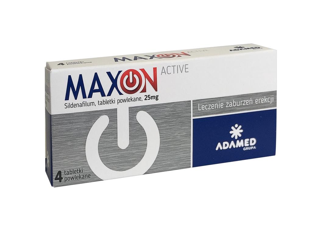 Maxon- skład, wskazania, przeciwwskazania, dawkowanie.